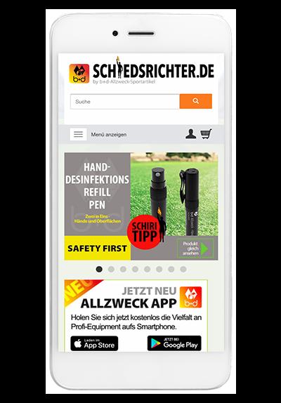 websale shop app schiedsrichter
