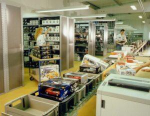Raceland zeigt den Onlinehandel als Vertriebsweg der Zukunft bereits 1996