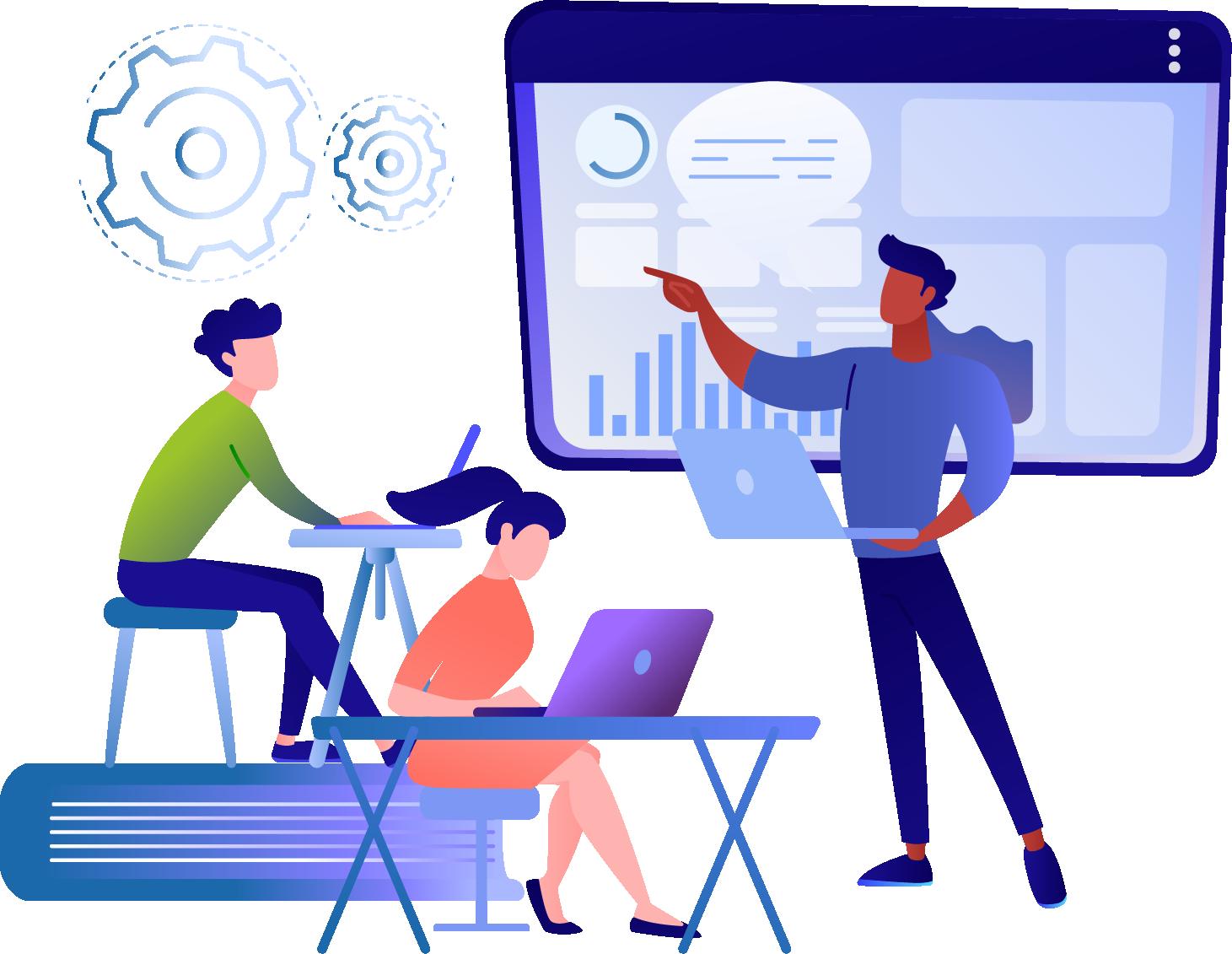 Design Entwicklung Teammeeting shopdesign