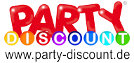 party discount logo